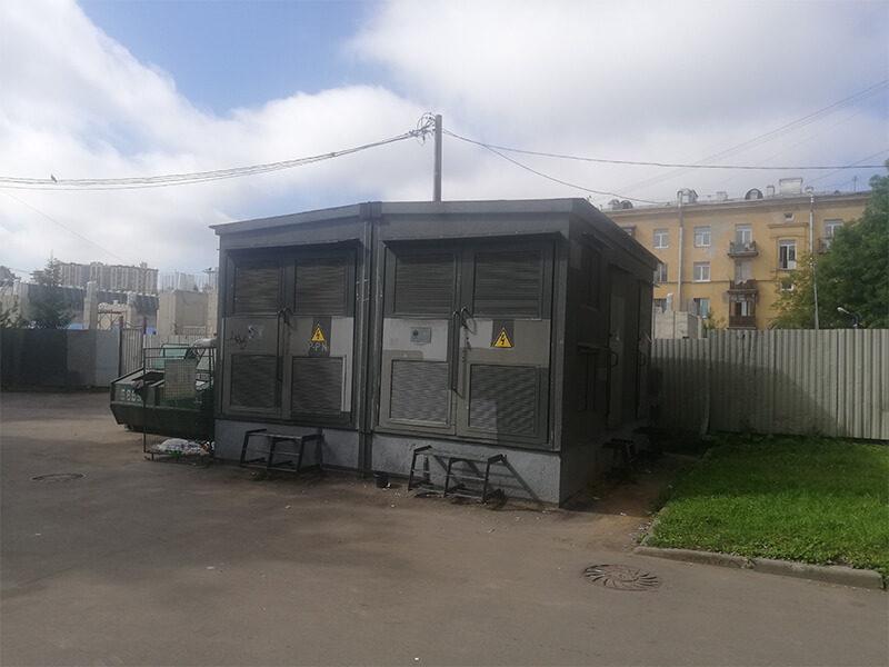 Установка 2БКТП 630/10/0,4 Санкт-Петербург Удельные бани