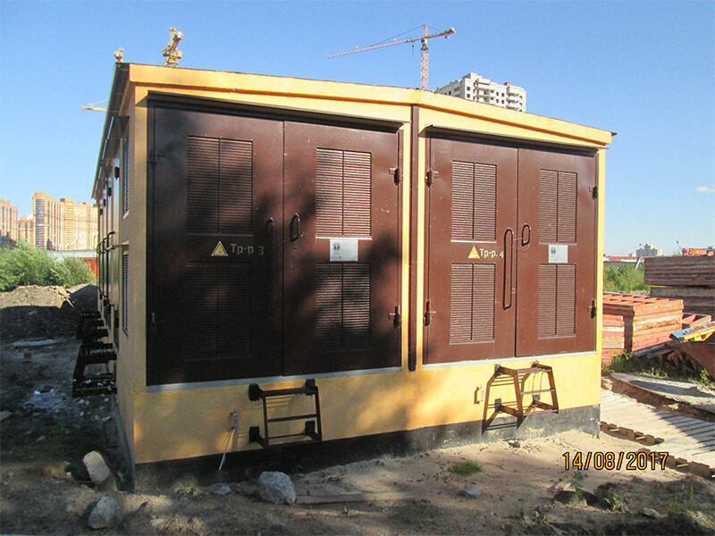 4БКТП 1250/10/0,4 - электроснабжение жилого комплекса в Парголово