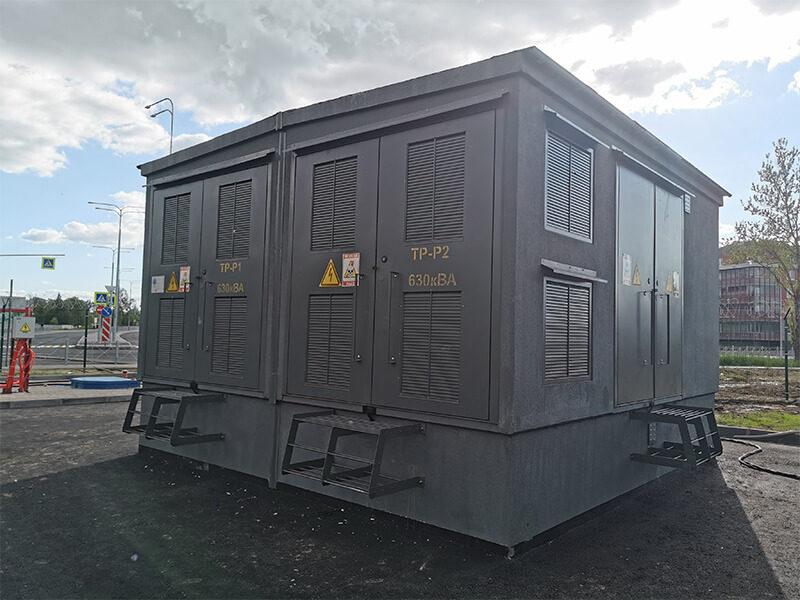 Производство и установка 2БКТП 630/10/0,4 на Пулковском шоссе
